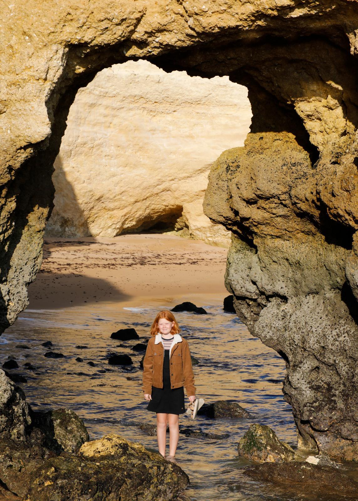 Algarvekustens läckra sandstensformationer ger mersmak.