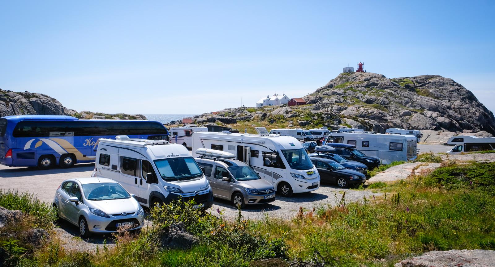 Såsom för många på norsk pilgrimsresa blev det ett stopp vid Norges sydligaste punkt.