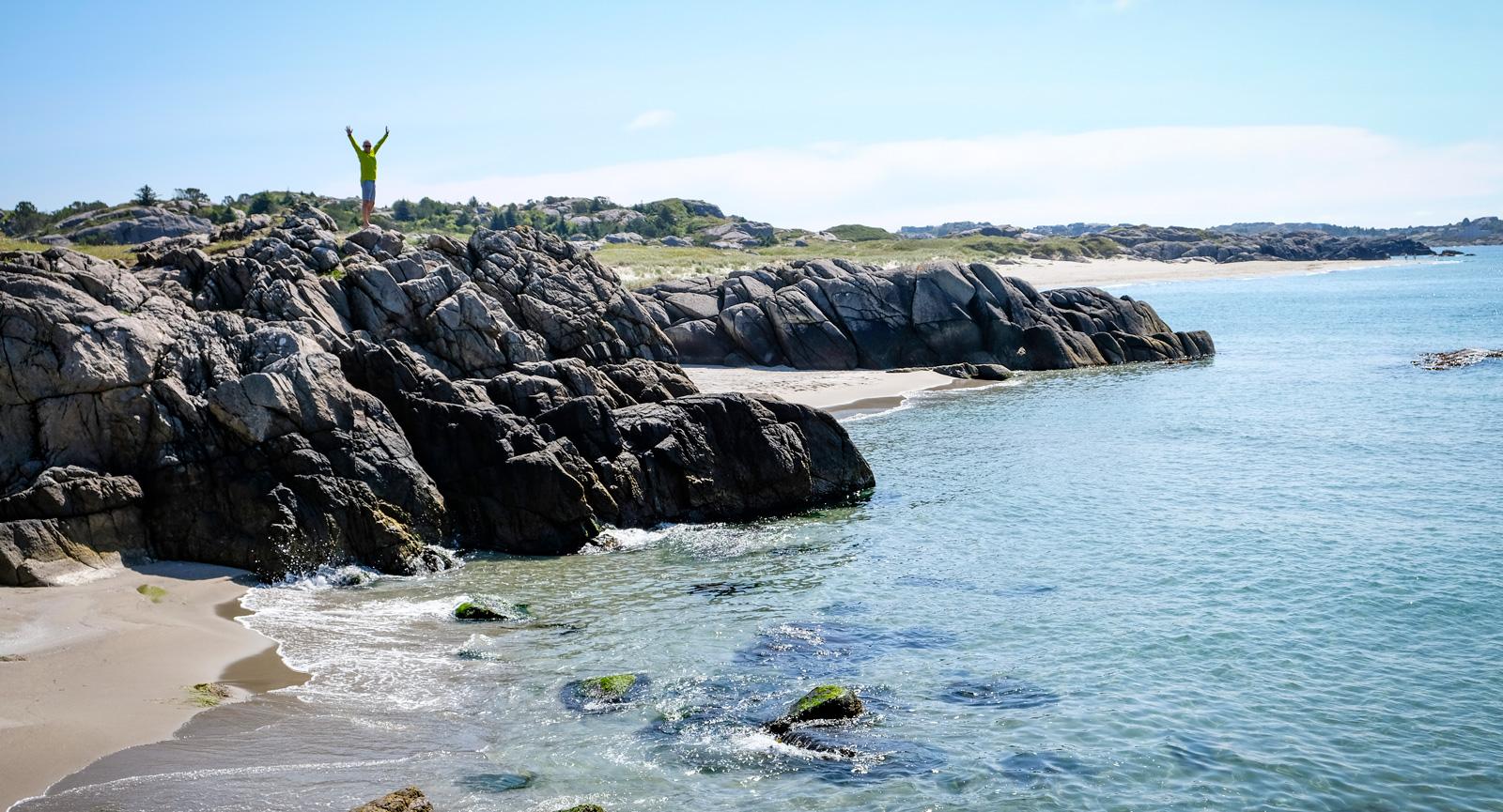 Den som vill ha en privat egen strand behöver inte leta länge.