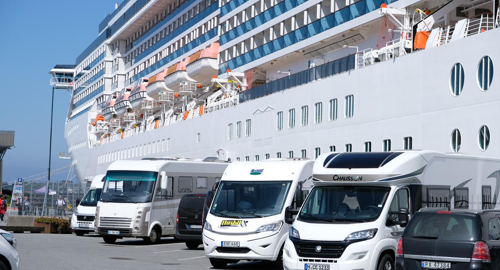 Stavanger är inte bara kryssningsbåtar utan passar perfekt för ett stopp även med husbil.