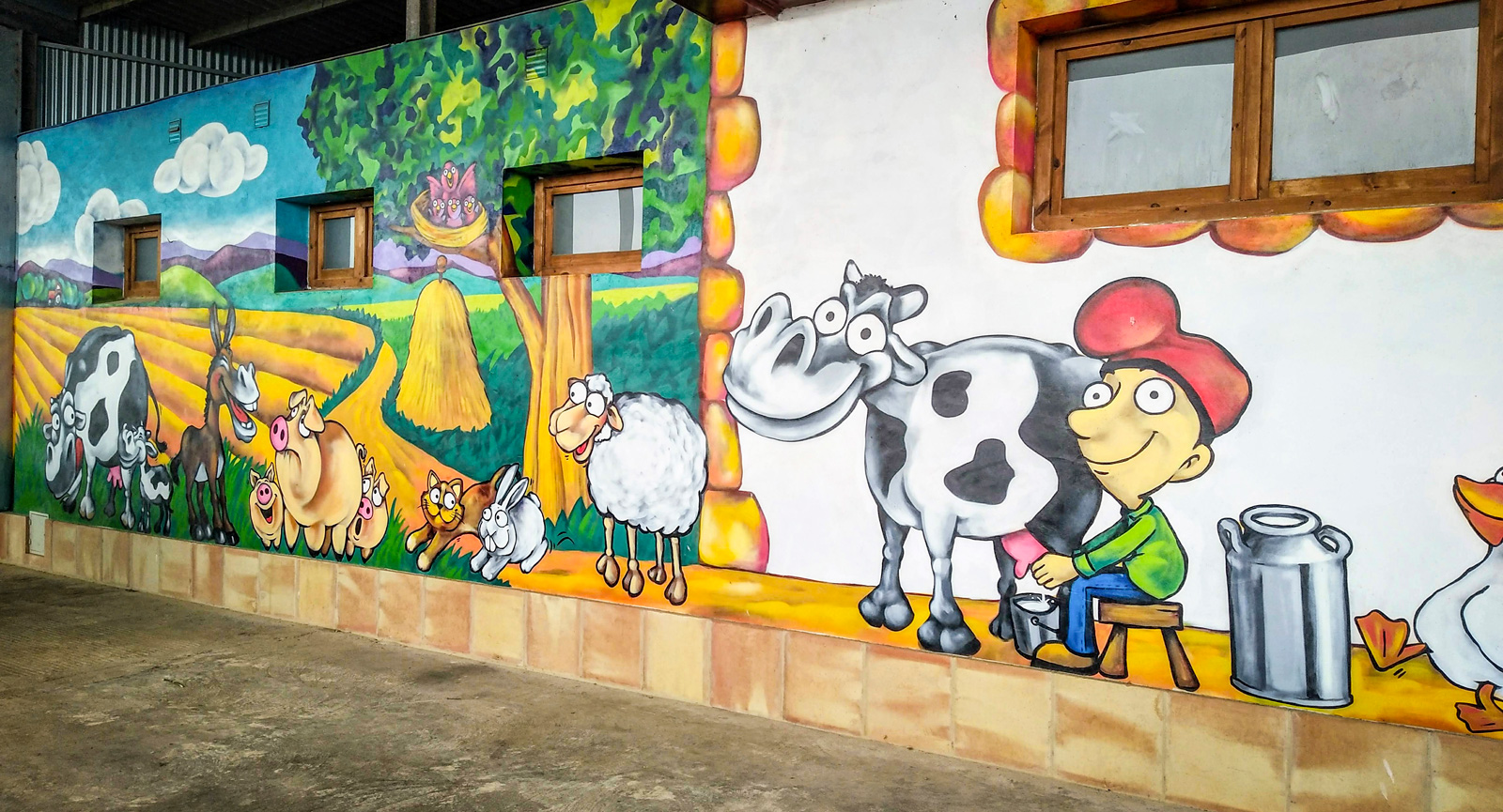 Gratis ställplatser för husbilen: Bo på spansk bondgård