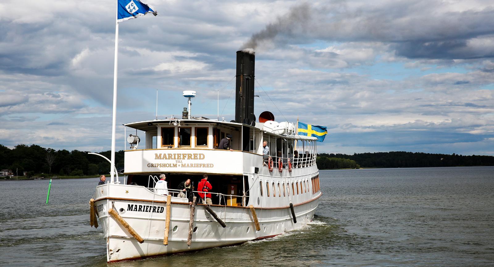 S/S Mariefred byggdes 1903 på södra varvet i Stockholm.