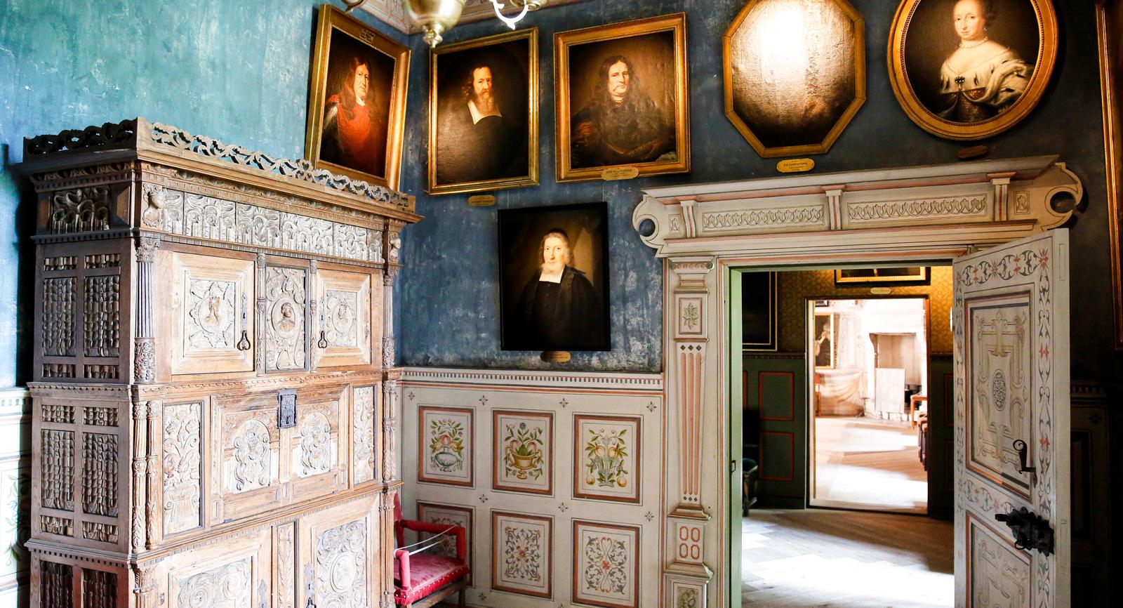 Vackra miljöer på Gripsholms slott
