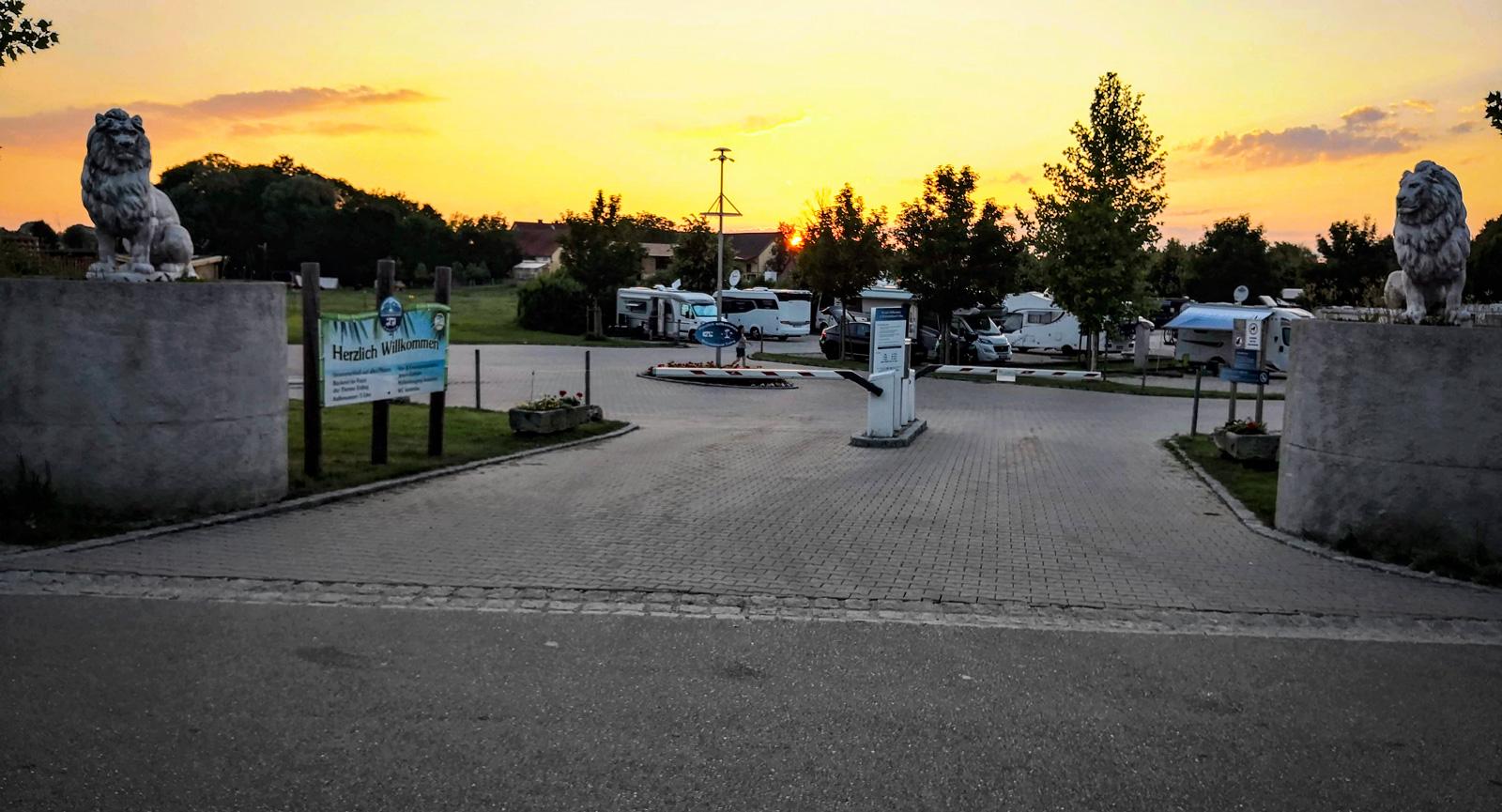 München med husbil: Ställ bilen i Erding