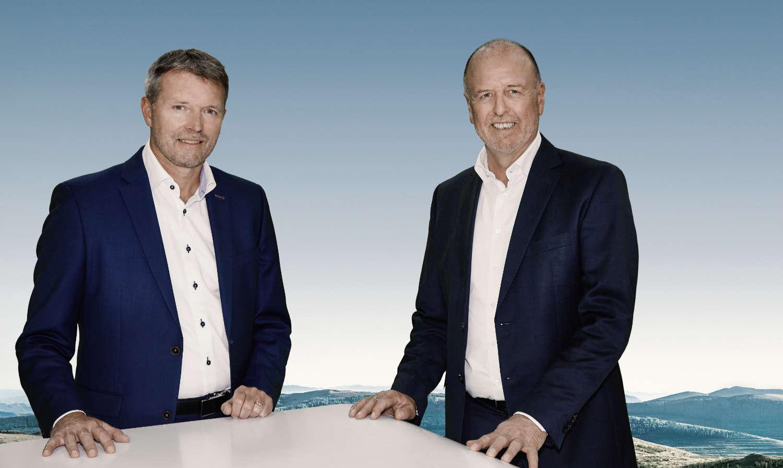 Jan Francke, COO, och Martin Brandt, CEO, på Erwin Hymer Group