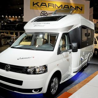 Karmann Dexter 560 Trend, fyrhjulsdrift och Transit-chassi