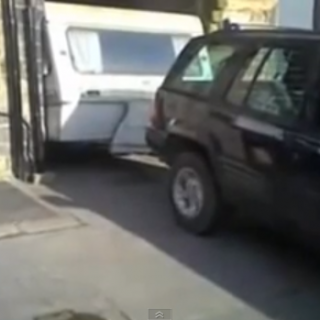 Konsten att backa med husvagn