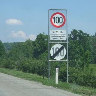 Hastighetsregler i Schweiz