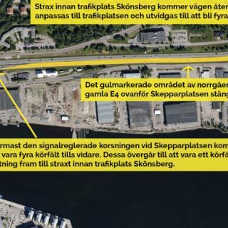 Färre kör bron i Sundsvall efter avgift
