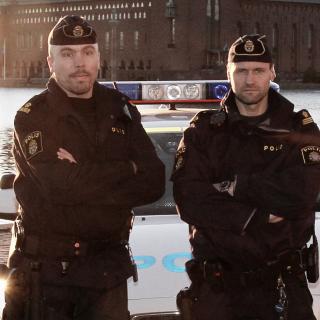Den välkände polisen Martin Melin bloggar ofta om sitt polisarbete