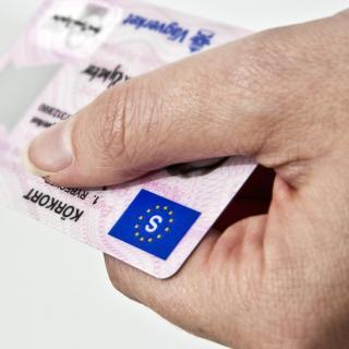 B-kort får nya regler för uppkörning