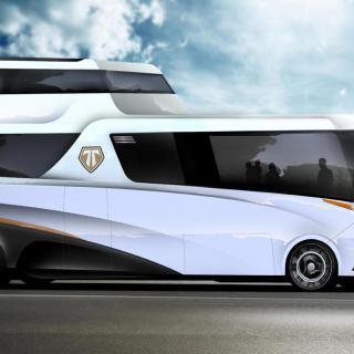 Konrad+King är en produktdesignbyrå i San Diego som har en idé om självkörande husbilar.