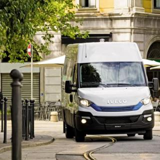 "IVECO Daily fick priset ""Sustainable Truck of the Year"""