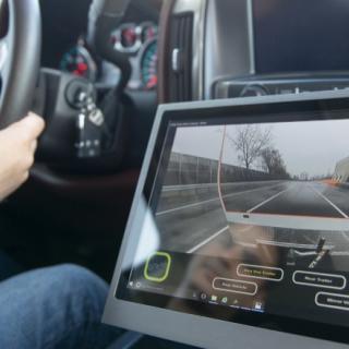 Framtidens interiör för bilar visades upp av BMW