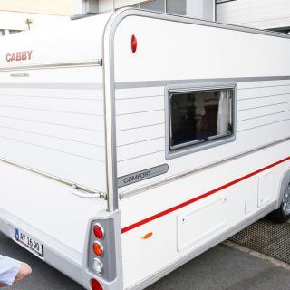 Cabby 650 L är en snygg vagn som känns modern trots att den har tio år på nacken.
