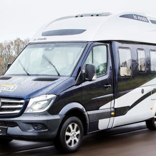 Stjärna. Nova baseras på Mercedes Sprinter och är en njutning att köra.