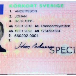 Svenskt körkort kan bli digitalt