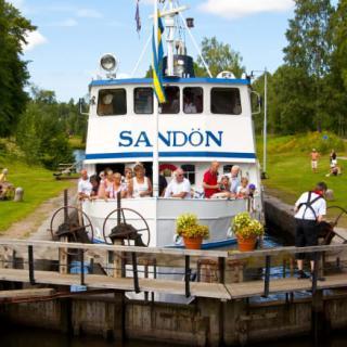 Många har redan besökt Göta Kanal i år