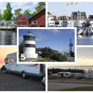 Följ med oss ut på campingen på Elmia