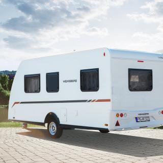Weinsberg Carabus 630 MEG Outlaw för tvåhjulsfantast