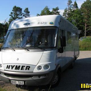 Foto: Hymer B 674,Fjärås Bräcka Kungsbacka (Min husbil)