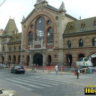 Foto: ,Saluhallen i Budapest (Resa)