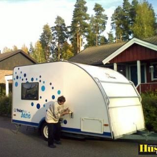 Foto: Polar 400 Basic,Avesta (Min husvagn)