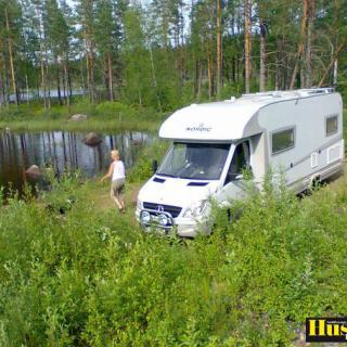Foto: Nordic 700 Spring/Special MB Sprinter,Finnsjön (Min husbil)