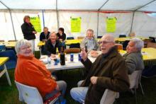 Så här roligt hade medlemmar i Husbilsklubben.se i Ragglanda 2008