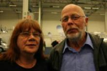 Margareta Jensen och Åke Eriksson.