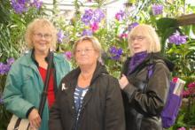 Inger Ljung, Ulla Houbaer och Christina Lindwall.