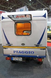 Piaggio Ape + Dethleffs = minihusbil