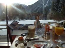Frukost med utsikt.