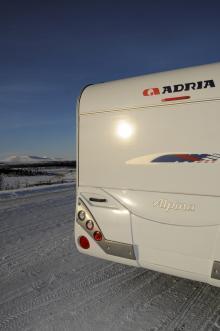 Alpina-serien har en läcker bakdel med diodlysen.