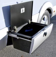 Smart utrymme i bilens sparklåda.