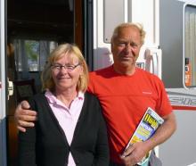 Gunnel och Jan-Börje Gustafson från Tibri fick en fin påskhelg i Heiligenhafen.