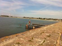 Ställplatstips - Skanör hamn i Skåne
