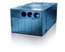 Saphir Comfort, golvmonterad AC, från Truma.