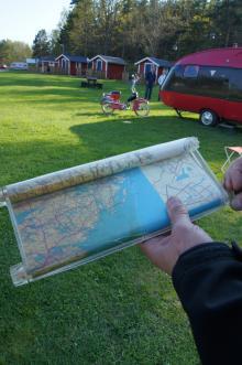 Rullkarta, dåtidens GPS.