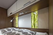 Flair 800i med dekorskivor i designen som kallas Green Grass.
