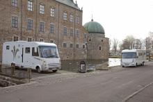 Vadstena Slott är ett av landets bäst bevarade renässansslott.