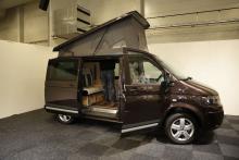 Det dyker upp fler och fler campingbussar på marknaden, här en från Reimo.