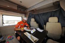 Adria i vinnande Dakarteam
