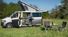 Luftigt för den som helst campar med personbilskomfort och i varmare klimat.