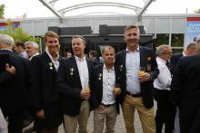 Medaljörerna från Alde är också nöjda efter sin femte seger i följd.