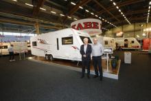 Alf Ekström och Johan Skogeryd är nöjda med den nya designen.