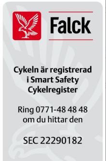 Stöldskydd för din cykel