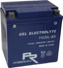 Gel-batterier är extremt ovanliga