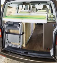 HymerCar Cape Town - byggd på VW T5
