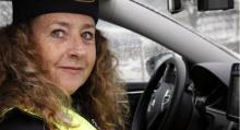 Polisen Carin Bauer har testkört ANPR som i sommar kommer att rullas ut till fler enheter än Stockholms trafikpolis.